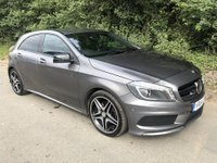 USED 2014 64 MERCEDES-BENZ A CLASS 1.5 A180 CDI BLUEEFFICIENCY AMG SPORT 5d AUTO 109 BHP