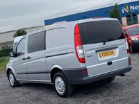 USED 2015 15 MERCEDES-BENZ VITO 2.1 113 CDI LWB DUALINER 5 SEATER  5 SEATER, LWB, AC, SAT NAV, ONE OWNER, FULL DEALER HIST