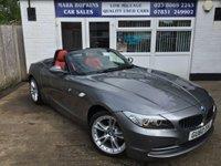2010 BMW Z4 3.0 Z4 SDRIVE30I ROADSTER 2d AUTO 254 BHP £13495.00