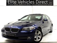 2013 BMW 5 SERIES 2.0 520D EFFICIENTDYNAMICS 4d 181 BHP £7241.00