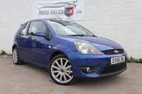 USED 2006 56 FORD FIESTA 2.0 ST 16V 3d 148 BHP