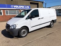 USED 2012 12 MERCEDES-BENZ VITO 2.1 113 CDI BLUEEFFICIENCY 136 BHP AUTOMATIC