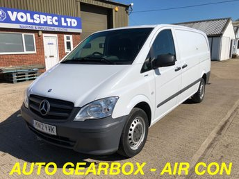 2012 MERCEDES-BENZ VITO 2.1 113 CDI BLUEEFFICIENCY 136 BHP AUTOMATIC £6500.00