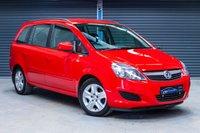USED 2013 VAUXHALL ZAFIRA 1.6 EXCLUSIV 5d 113 BHP