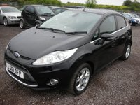 USED 2011 61 FORD FIESTA 1.4 ZETEC TDCI 5d 69 BHP 1 Previous owner