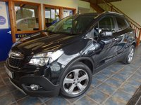 USED 2013 13 VAUXHALL MOKKA 1.7 SE CDTI S/S 5d 128 BHP SATNAV BLUETOOTH LEATHER 62MPG