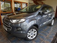USED 2015 15 FORD ECOSPORT 1.5 ZETEC 5d 110 BHP FULL FORD MAIN DEALER HISTORY!