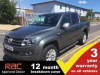USED 2014 64 VOLKSWAGEN AMAROK NO VAT HIGHLINE 4MOTION 1d AUTO 180 BHP **NO VAT** SatNav Heated Seats Very tidy!! NO VAT