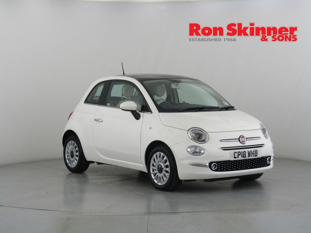 View our 2018 18 FIAT 500 1.2 LOUNGE 3d 69 BHP