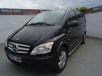 2013 MERCEDES-BENZ VITO 2.1 116 CDI DUALINER 1d AUTO 163 BHP £11995.00
