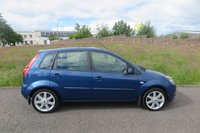 USED 2008 58 FORD FIESTA 1.2 ZETEC BLUE Alloys,Air Con,F.S.H Alloys,Air Con,F.S.H