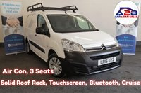 2016 CITROEN BERLINGO 1.6 625 ENTERPRISE HDI  75 BHP Air Con, Bluetooth Connectivity, Cruise Control, Rear Parking Sensors and more ... £5980.00