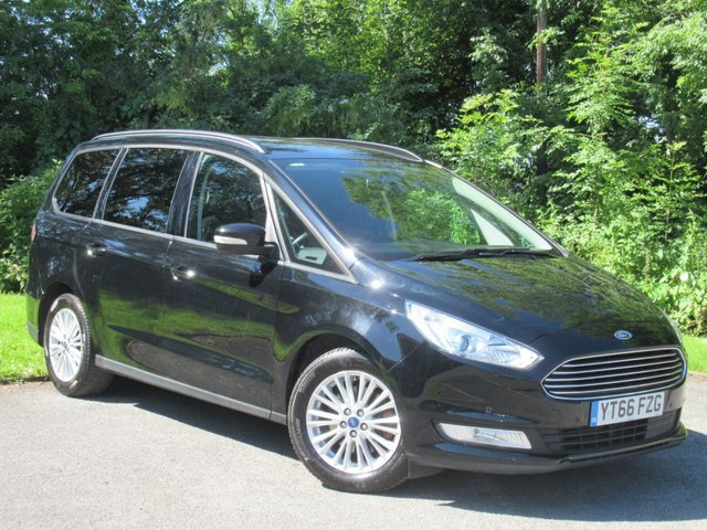 USED 2016 66 FORD GALAXY 2.0 ZETEC TDCI 5d AUTO * 7 SEATER * AUTOMATIC DIESEL  * 12 MONTHS FREE AA MEMBERSHIP *