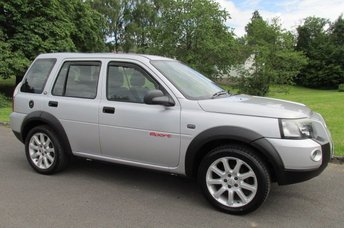 2004 LAND ROVER FREELANDER 2.0 TD4 SPORT STATION WAGON 5d 110 BHP £2290.00