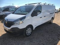 USED 2016 66 RENAULT TRAFIC 1.6 LL29 BUSINESS DCI 1d 120 BHP EURO 6 ADD BLUE LWB  120HP 61000 MILES