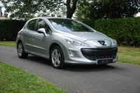 USED 2009 59 PEUGEOT 308 1.6 THP SPORT 5d 150 BHP A Fantastic Example that has been Meticulously Maintained Throughout its Life with a Detailed FULL SERVICE HISTORY 17Inch Alloy Wheels, On-board Computer