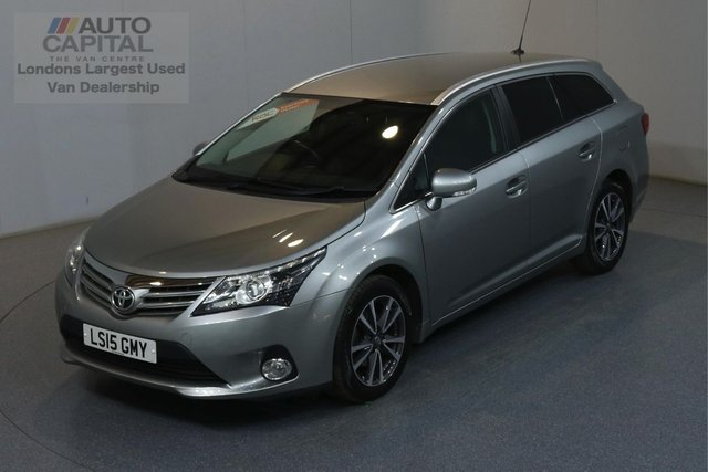 2015 15 TOYOTA AVENSIS 2.0 D-4D ICON BUSINESS EDITION 124 BHP AIR CON SAT NAV
