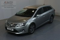 USED 2015 15 TOYOTA AVENSIS 2.0 D-4D ICON BUSINESS EDITION 124 BHP AIR CON SAT NAV MOT UNTIL 01/07/2020