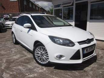 2011 FORD FOCUS 2011 11 Ford Focus 1.6 ZETEC 5d 124 BHP £SOLD