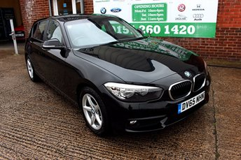 2015 BMW 1 SERIES 1.5 116D ED PLUS 5d 114 BHP £8799.00