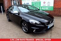 USED 2015 15 VOLVO V40 1.6 D2 R-DESIGN 5d 113 BHP +ONE OWNER +FREE TAX +LEATHER.