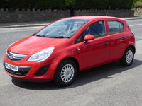 USED 2012 12 VAUXHALL CORSA 1.2 S 5d 83 BHP Finance Options Available - Good Credit / Bad Credit