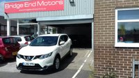 USED 2016 16 NISSAN QASHQAI 1.5 DCI ACENTA SMART VISION 5d 108 BHP 9466 MILES FROM NEW! LOW CO2 EMISSIONS 99 G/KM, ZERO ROAD TAX, GREAT SPEC INCLUDING 17 INCH ALLOY WHEELS,REAR PARKING SENSORS,CLIMATE CONTROL, FULL DEALER SERVICE HISTORY ! MEETS LARGE CITY EMISSION STANDARDS!