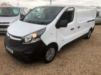 USED 2015 15 VAUXHALL VIVARO 1.6 2900 L2H1 CDTI P/V 1d 114 BHP 63000 MILES ONE OWNER FROM NEW