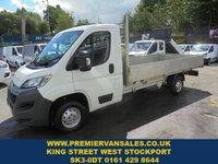 USED 2017 17 CITROEN RELAY 2.0 35 L3 BLUEHDI  130BHP   13FT DROPSIDE PICKUP  ALLOY SIDES WOOD DECK   2017 YEAR ONE OWNER  2017 year  13ft DROP SIDE PICKUP ALLOY SIDES DIESEL 130 BHP