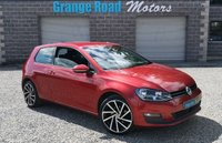 2014 VOLKSWAGEN GOLF 1.6 MATCH TDI BLUEMOTION TECHNOLOGY 3d 103 BHP £7950.00