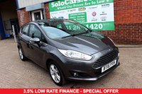 USED 2016 16 FORD FIESTA 1.5 ZETEC TDCI 5d 74 BHP +ONE OWNER +FREE TAX +SAT NAV.