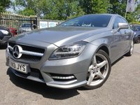 "USED 2013 13 MERCEDES-BENZ CLS CLASS 2.1 CLS250 CDI BLUEEFFICIENCY AMG SPORT 5d AUTO 202 BHP LEATHER+MEDIA+PARK+19"" ALLOYS+"