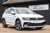 USED 2016 66 VOLKSWAGEN TIGUAN 2.0 R-LINE TDI BLUEMOTION TECHNOLOGY DSG 5d AUTO 148 BHP GREAT LOOKING SUV