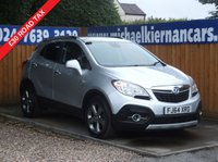 USED 2014 64 VAUXHALL MOKKA 1.7 SE CDTI S/S 5d 128 BHP FSH,BLUETOOTH, HEATED SEATS