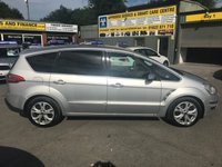 USED 2014 64 FORD S-MAX 2.0 TITANIUM TDCI 5d AUTO 161 BHP IN METALLIC SILVER WITH 33,000 MILES WITH A FULL SERVICE HISTORY! APPROVED CARS AND FINANCE ARE PLEASED TO OFFER THIS FORD S-MAX 2.0 TITANIUM TDCI 5 DOOR AUTOMATIC 161 BHP IN METALLIC SILVER WITH 33,000 MILES WITH A FULL SERVICE HISTORY AT 7K, 14K, 23K, AND 29K. THIS VEHICLE HAS GOT A GREAT SPEC SUCH AS BLUETOOTH, AUX, CRUISE CONTROL, ALLOY WHEELS, 7 SEATS PARKING SENSORS FRONT AND REAR AND MUCH MORE. THIS IS A PERFECT FAMILY CAR WITH THE 7 SEATS AND ALSO DUE TO THE ENGINE SIZE THIS VEHICLE IS EXTREMELY ECONOMICAL NOT A VEHICLE TO BE MISSED