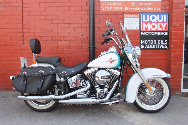 USED 2017 17 HARLEY-DAVIDSON FLSTC  HERITAGE STC 1690  Absolutely Immaculate Machine ! Finance and Delivery Available.