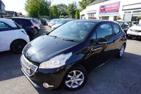 USED 2013 63 PEUGEOT 208 1.2 ACTIVE 3d 82 BHP