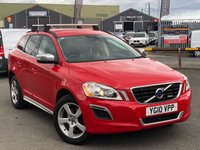 USED 2010 10 VOLVO XC60 2.4 D DRIVE R-DESIGN SE PREMIUM 5d 175 BHP *FANTASTIC SPEC, SERVICE HISTORY, MUST SEE!*