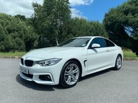USED 2014 14 BMW 4 SERIES 2.0 420D M SPORT 2d 181 BHP M SPORT, GREAT SPEC, NAVIGATION, DIESEL COUPE, CHEAP TO RUN!!!!!