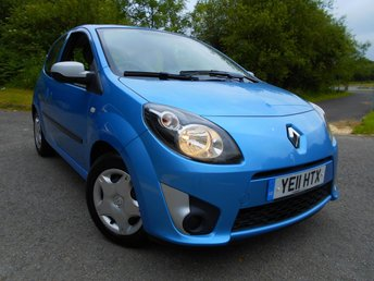 2011 RENAULT TWINGO 1.1 BIZU 3d 75 BHP ** ONE OWNER FROM NEW , £30 ROAD TAX, AND YES ONLY 57K ** £2995.00