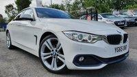 "USED 2015 65 BMW 4 SERIES GRAN COUPE 2.0 420D SPORT 4d AUTO 188 BHP 2KEYS+PARK+LEATHER+MEDIA+AUX+SATNAV+PRIVGLASS+19"" ALLOYS+30 TAX+CD+"
