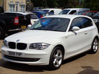 USED 2009 09 BMW 1 SERIES 2.0 116I SPORT 3d 121 BHP 64000 miles