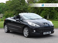 USED 2010 10 PEUGEOT 207 1.6 GT COUPE CABRIOLET 2d 148 BHP