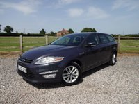 USED 2012 12 FORD MONDEO 2.0 ZETEC TDCI 5d 138 BHP ONLY 2 OWNERS FROM NEW