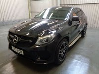 USED 2017 17 MERCEDES-BENZ GLE-CLASS 3.0 GLE 350 D 4MATIC AMG LINE PREMIUM PLUS NIGHT EDITION 4d AUTO 255 BHP