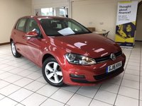 USED 2016 16 VOLKSWAGEN GOLF 1.6 MATCH EDITION TDI BMT DSG 5d AUTO 109 BHP