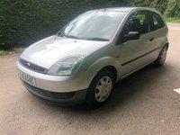 2003 FORD FIESTA 1.4 LX 16V 3d AUTO 78 BHP £1650.00