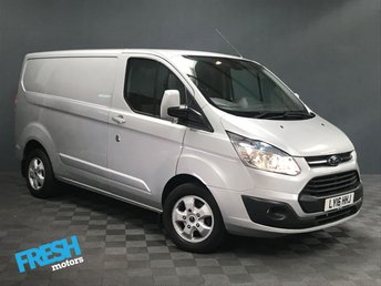 2016 FORD TRANSIT CUSTOM 2.2 270 LIMITED L1H1 £13000.00