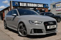 USED 2016 16 AUDI RS3 2.5 RS3 SPORTBACK QUATTRO NAV 5d AUTO 362 BHP 1 YEAR AUDI WARRANTY, PAN ROOF, DYNAMIC PACK, SPORTS EXHAUST