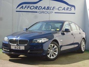 2016 BMW 5 SERIES 2.0 520D SE 4d 188 BHP £11950.00